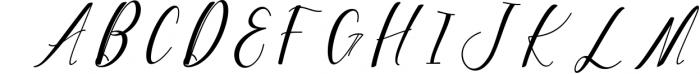 Woodley Script 1 Font UPPERCASE