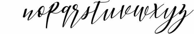 Woodley Script 1 Font LOWERCASE