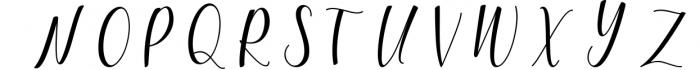 Woodley Script 2 Font UPPERCASE