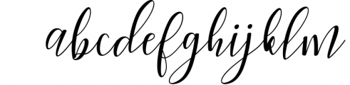 Woodley Script 2 Font LOWERCASE