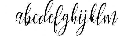 Woodley Script Font LOWERCASE