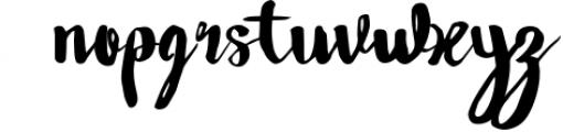 Wowangle Brush Script (Bonus Font) 1 Font LOWERCASE