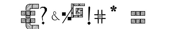 WODENBLOKS Font OTHER CHARS