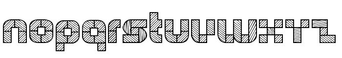WODENBLOKS Font UPPERCASE