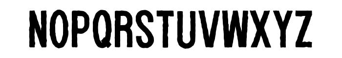 WOLF GANG ROUGH Font UPPERCASE