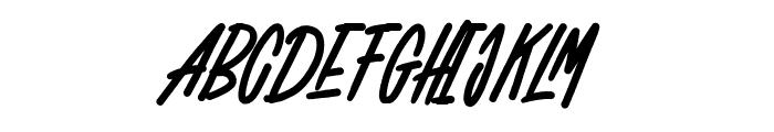 WOLF GANG SCRIPT Font UPPERCASE