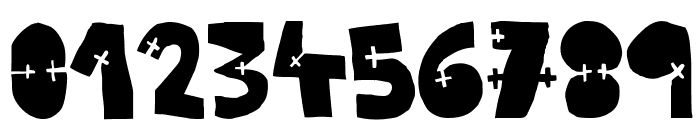 WOODCUTTER CROSS Font OTHER CHARS