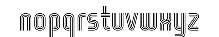 WOX-Striped Triple Demo Font LOWERCASE