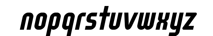 WOX~Modelist Bold Italic Demo Font LOWERCASE