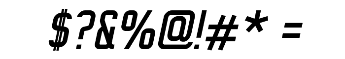 WOX~Modelist Italic Demo Font OTHER CHARS