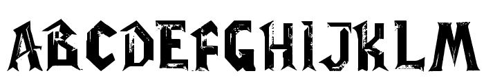 WoW-plexus Font UPPERCASE