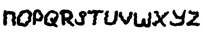 Wobbly Font UPPERCASE