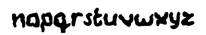 Wobbly Font LOWERCASE