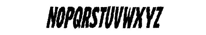 Wolf Brothers Condensed Italic Font LOWERCASE
