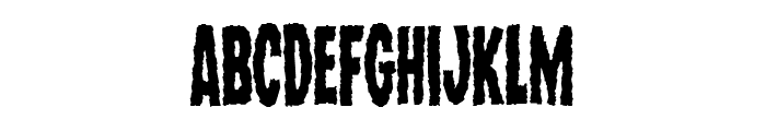 Wolf Brothers Condensed Font LOWERCASE