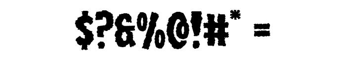 Wolf Brothers Expanded Font OTHER CHARS