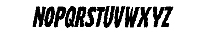 Wolf Brothers Italic Font LOWERCASE