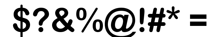 Wolf Sans SC Regular Font OTHER CHARS