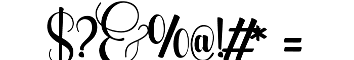 WolfBanePro Font OTHER CHARS