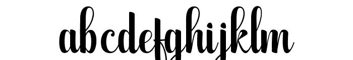 WolfBanePro Font LOWERCASE