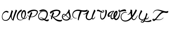 WolfintheCity Font UPPERCASE