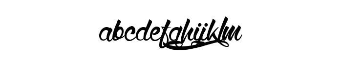 WolfintheCity Font LOWERCASE