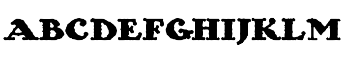Wolfram Font UPPERCASE
