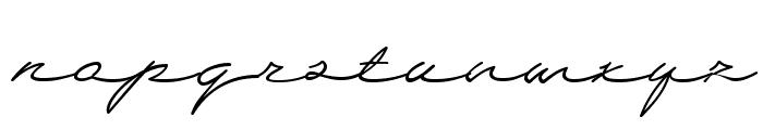 Wolframia Font LOWERCASE