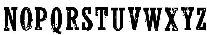 WolfredNelson Regular Font UPPERCASE