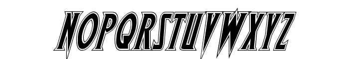 Wolf's Bane Academy Italic Font UPPERCASE