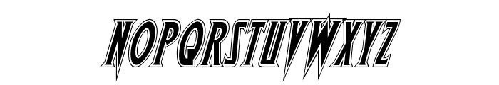 Wolf's Bane Academy Italic Font LOWERCASE