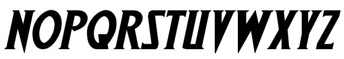 Wolf's Bane II Expanded Italic Font UPPERCASE