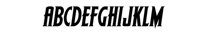 Wolf's Bane II Semi-Italic Font LOWERCASE
