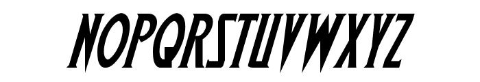 Wolf's Bane Italic Font UPPERCASE