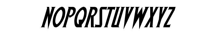 Wolf's Bane Italic Font LOWERCASE