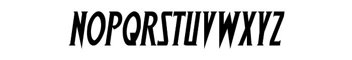 Wolf's Bane Semi-Italic Font LOWERCASE