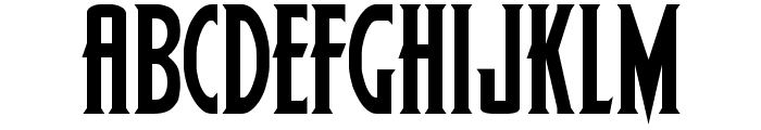 Wolf's Bane Font LOWERCASE