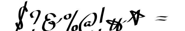 Wolgast Script Font OTHER CHARS
