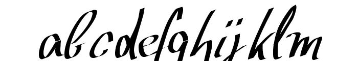 Wolgast Script Font LOWERCASE