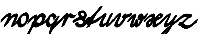 Wolgast Two Bold Font LOWERCASE