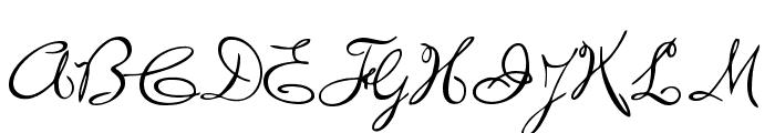 WolgastRand Font UPPERCASE
