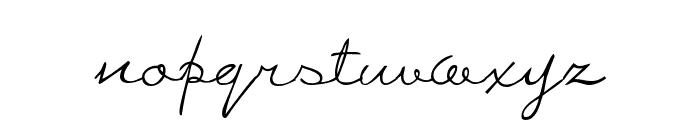 WolgastRand Font LOWERCASE