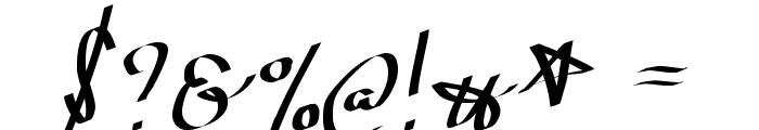 WolgastScript Font OTHER CHARS