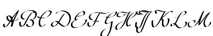 WolgastScript Font UPPERCASE