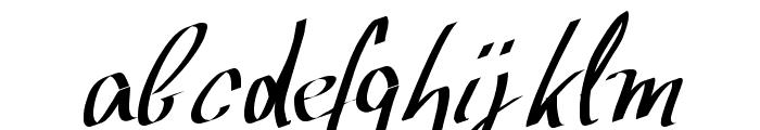 WolgastScript Font LOWERCASE