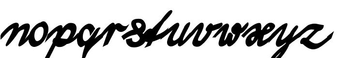 WolgastTwoBold Font LOWERCASE