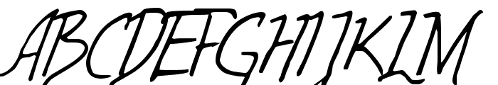 Wolven Script  What Font is