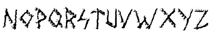 Wolves Engraven Font UPPERCASE