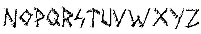 Wolves Engraven Font LOWERCASE