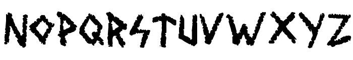 Wolves and Ruin Font LOWERCASE